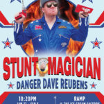 Stunt Magician - Danger Dave Reubens at Fringe World 2018